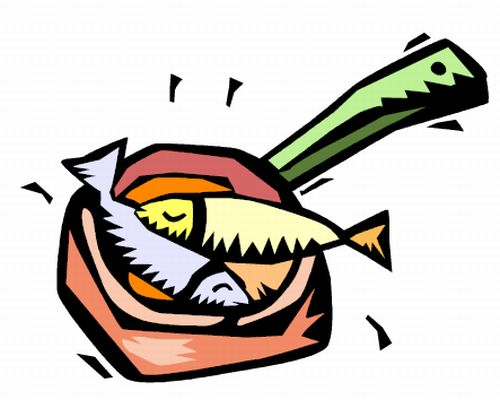 Cooked Fish Clipart Clipartion Com