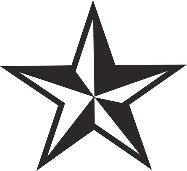 Cool Star Clipart