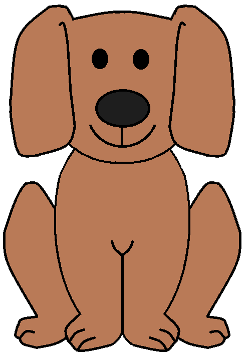 Cute Dog Clipart