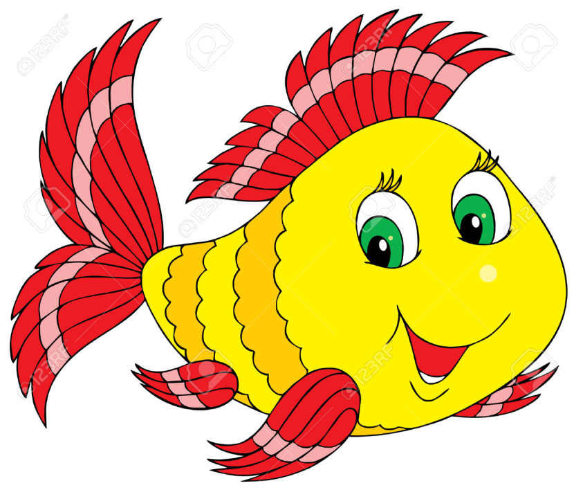 Cute Fish Clipart
