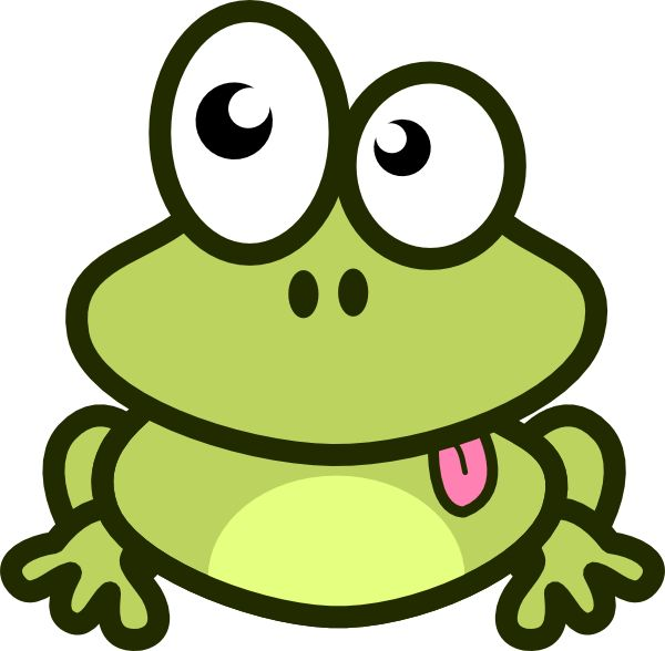 Cute Frog Clipart