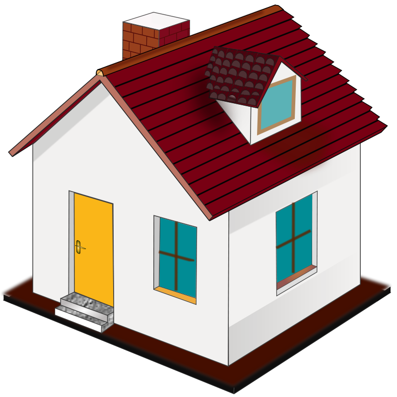 Cute House Clipart