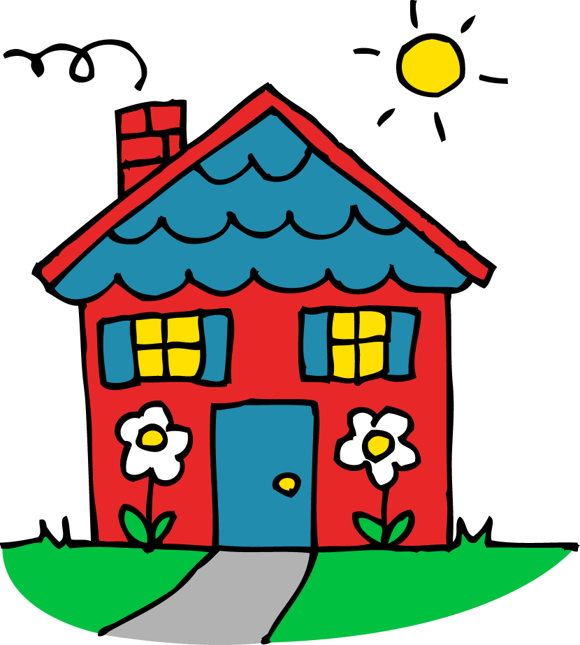 Cute House Clipart Free