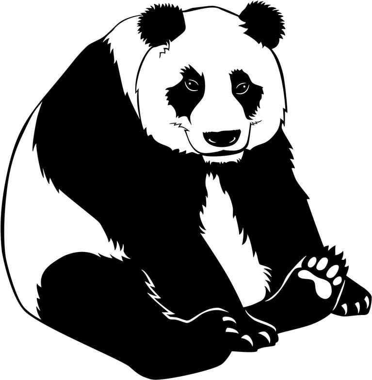 Cute Panda Bear Clipart Free