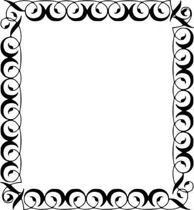 Decorative Border Free Vector In Open Office Drawing