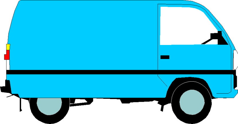 Delivery Truck Clipart Free