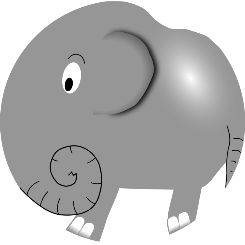 Elephant Clipart Baby Shower