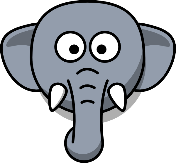 Elephant Head At Vector Online