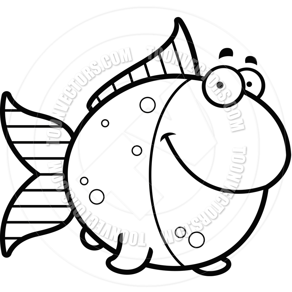 Fish Clipart Black And White | www.imgkid.com - The Image ...