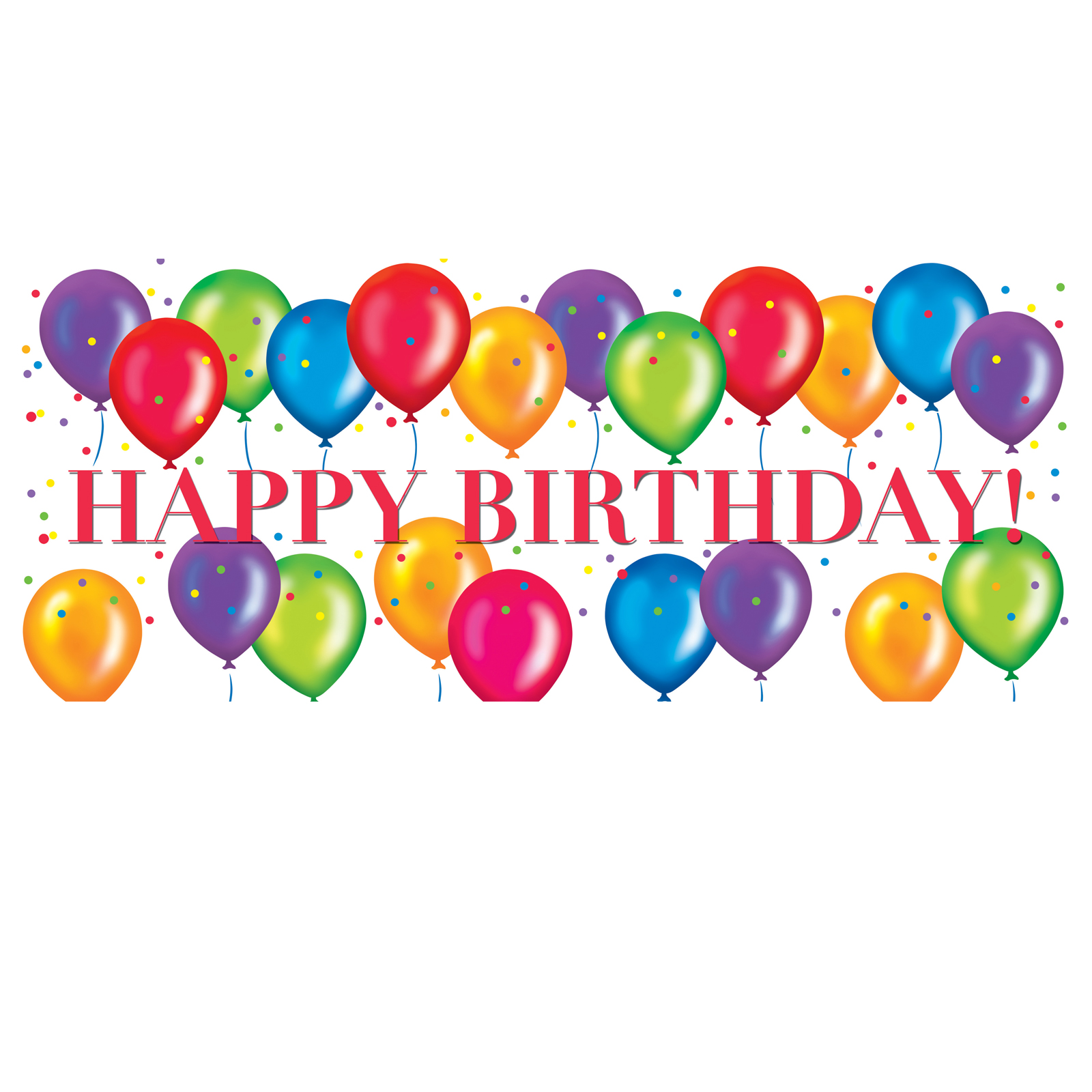 Best Birthday Balloons Clipart 27320 Clipartion Com