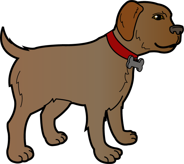 Free Dog Clipart Graphics Illustrations