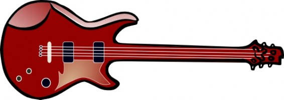 Free Electric Guitar Free Vector