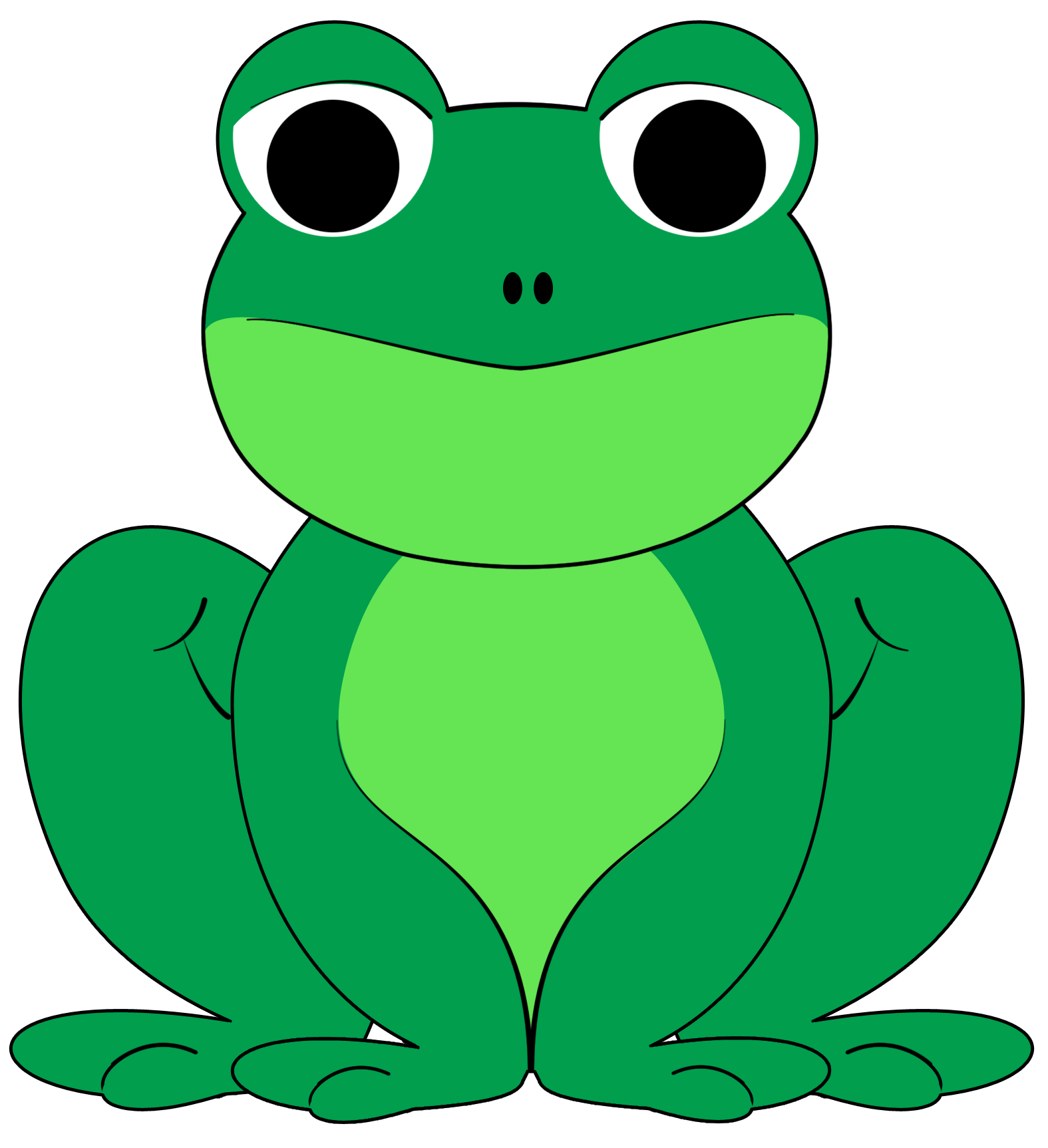 best frog clipart 25444 clipartioncom