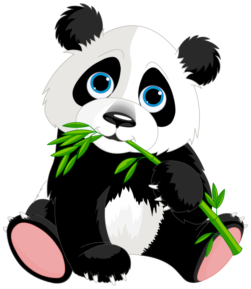 Free Panda Clipart Graphics Illustrations