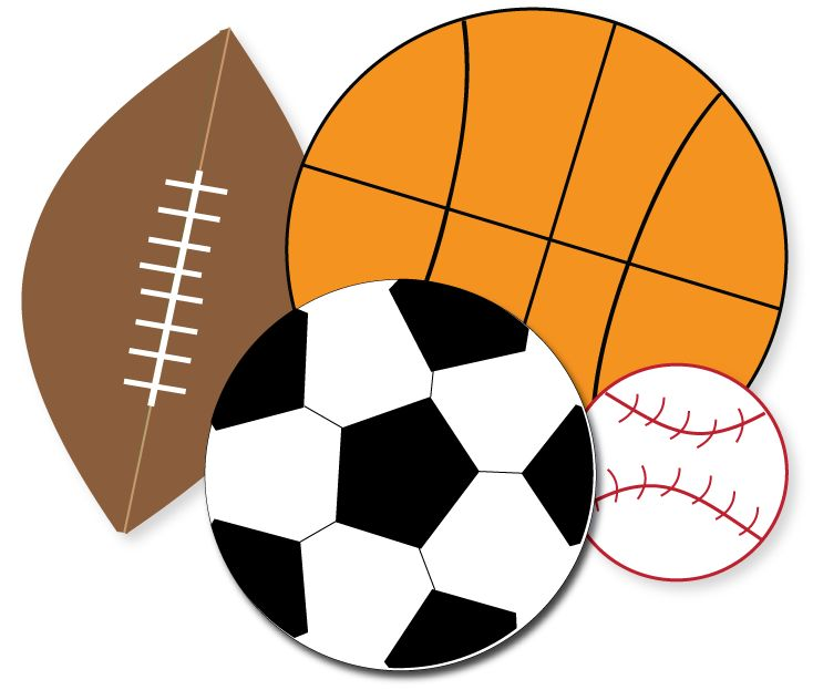 Free Sports Clipart Kid Party Ideas Sports