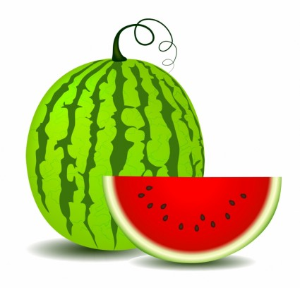 Free Watermelon Clipart Free Vector
