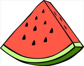 Free Watermelon Wedge Clipart Free Clipart Graphics Images