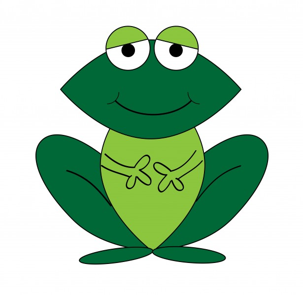 Frog Cartoon Clipart Free
