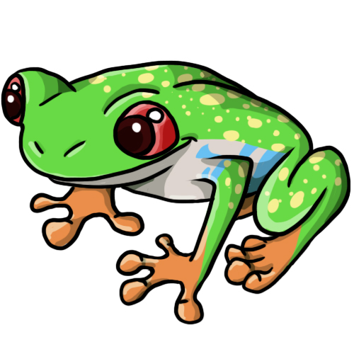 Frog Cute Clipart