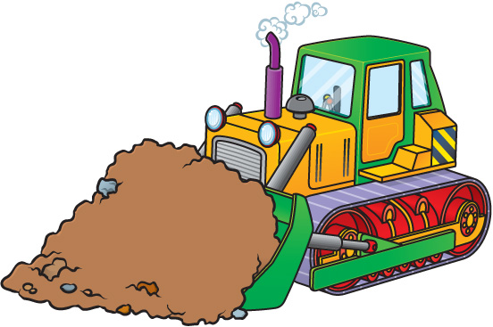 Gallery For Bulldozer Clipart Free