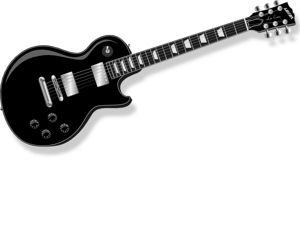 Gallery For Rock Guitar Black And White