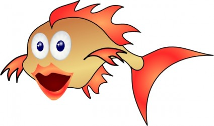 Gold Fish Free Vector In Open Office Drawing