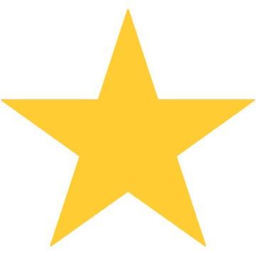 Gold Star Clipart