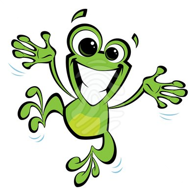 Best Hopping Frog Clipart #27883 - Clipartion.com