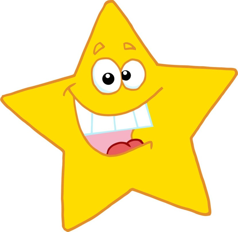Happy Stars Clipart