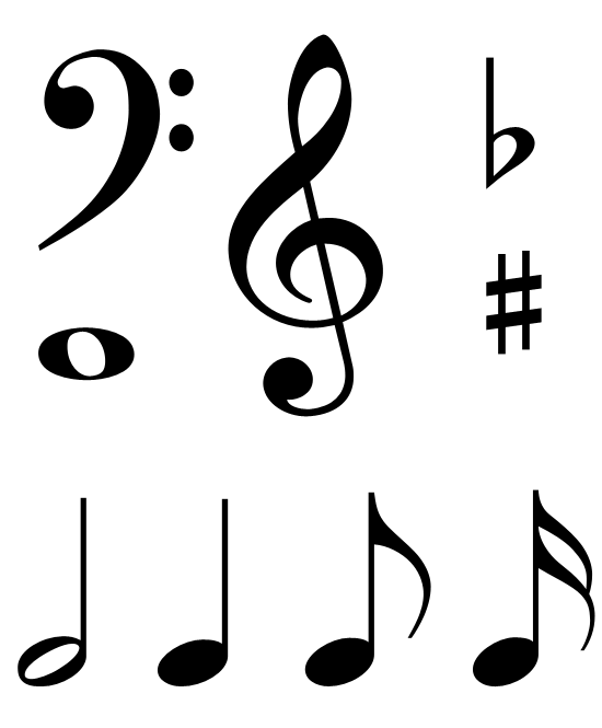 Heart Music Note Free