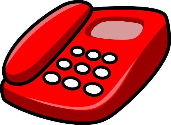 Home Phone Clipart