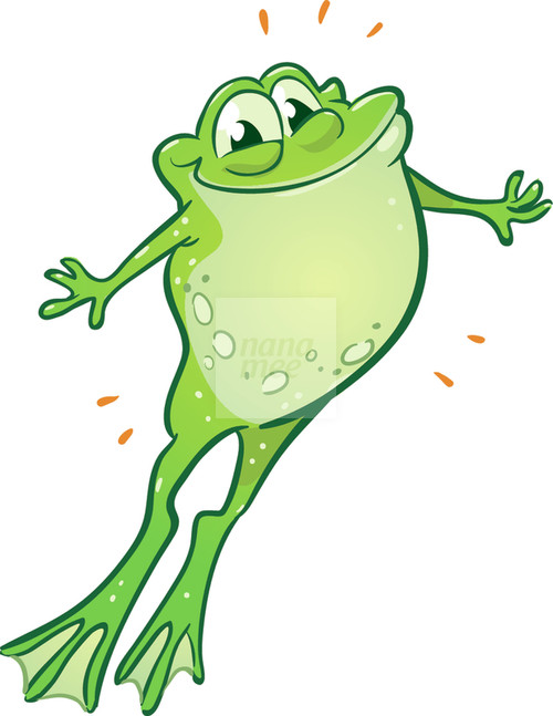 Jumping Frog Clip Art Best hopping frog clipart 27883 clipartion