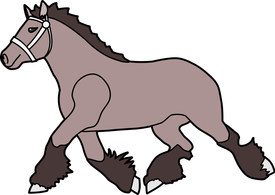 Horse Head Free Vector In Open Office Drawing