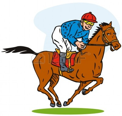 Horse Racing Clipart Free