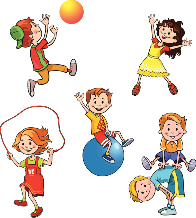 Image Kids Health And Fitness Clipart