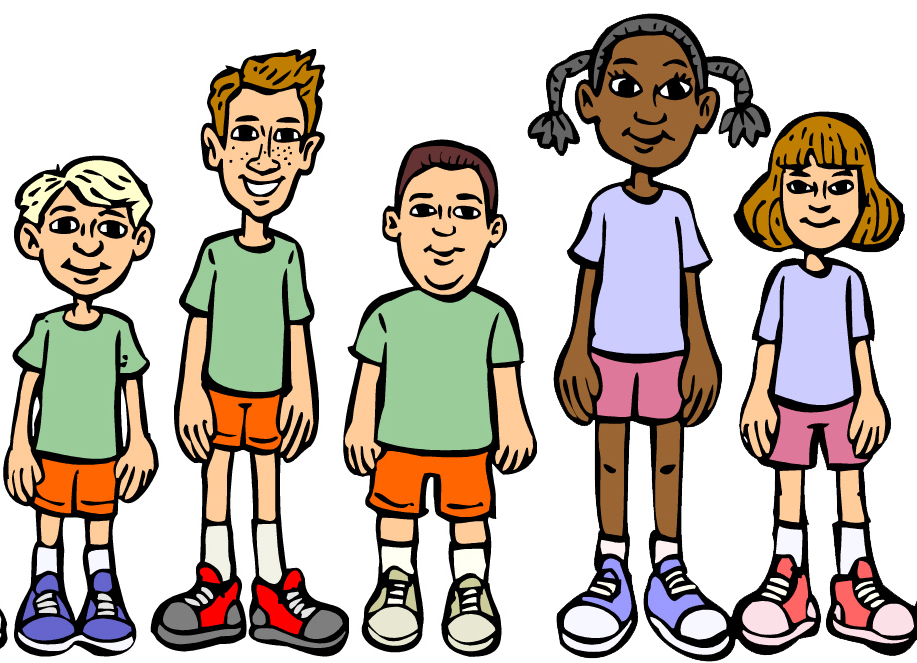 Kids Playing Summer Clipart Free