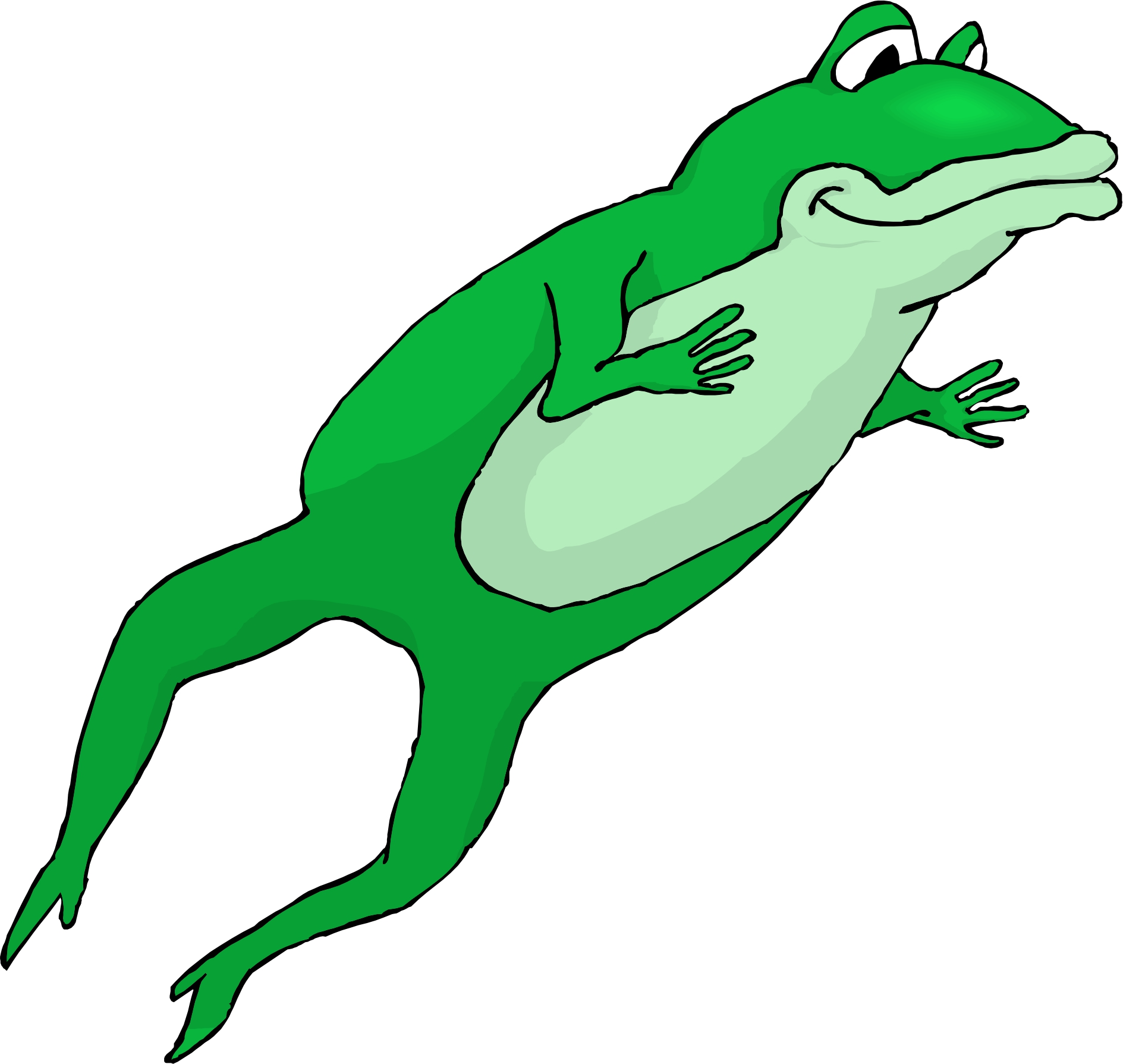 Frog Jumping Clipart Best Hopping Frog Clip...