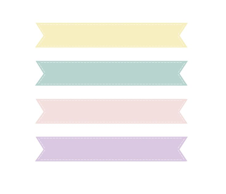 Loveration Freebies Cute Pastel Banner Craft Ideas