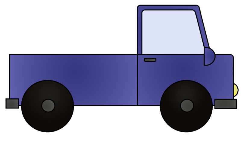 Mail Truck Clipart