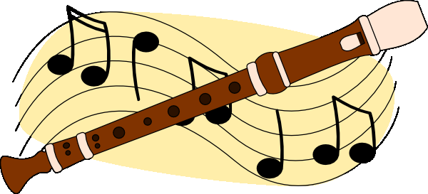 Music Class Clipart Recorder Png