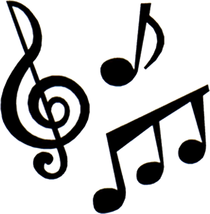 Music Instruments And Notes Clipart