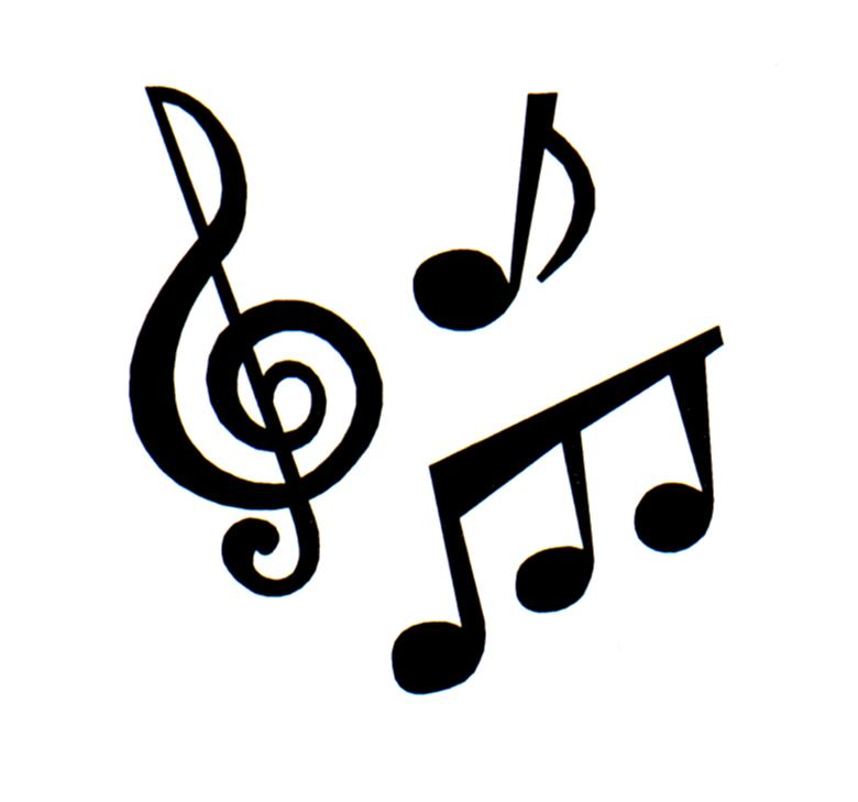 Music Note Black And White Free Clipart