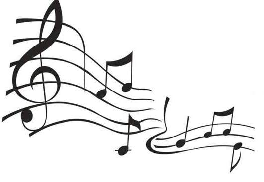 Music Notes Clipart Black And White Free Clipart