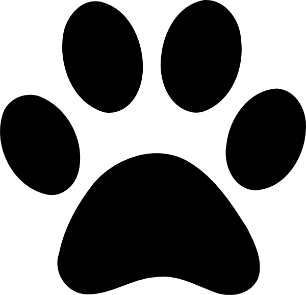 Paw Print At Vector Online