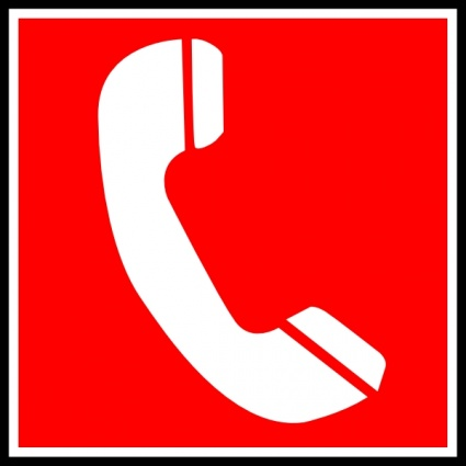 Phone Sign Clipart
