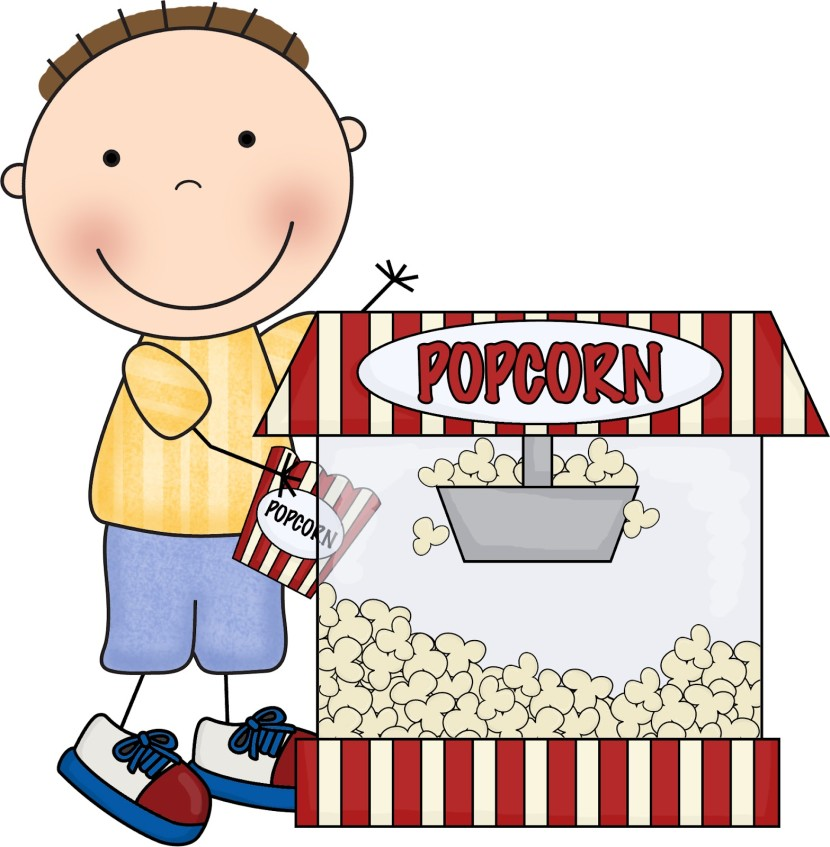 Piece Of Popcorn Clipart Free