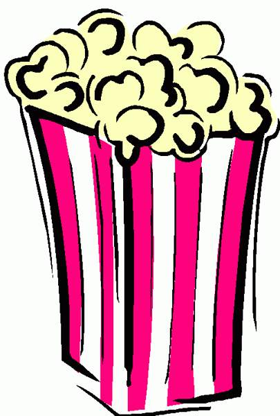 Popcorn Eating Pair Clip Clipart Free Images