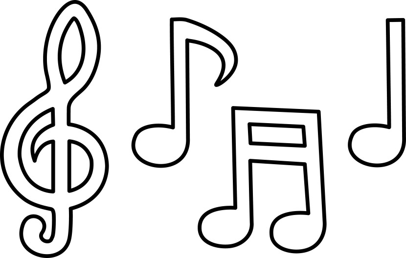 Printable Musical Notes Gallery Photos