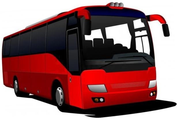 Red Bus Clipart Free
