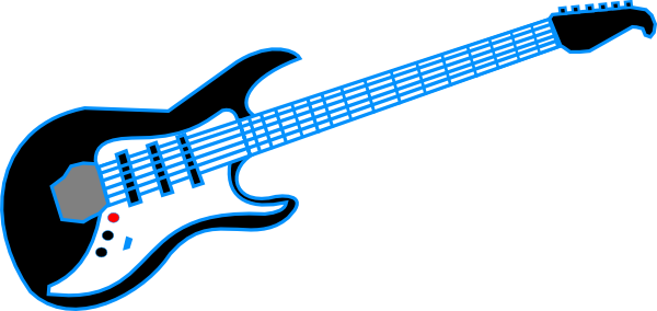 Red Electric Guitar Free Vector In Open Office Drawing